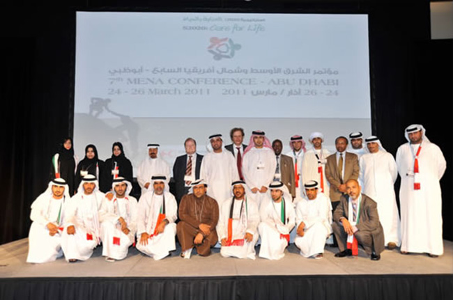 Abu Dhabi conferenza della Croce Rossa