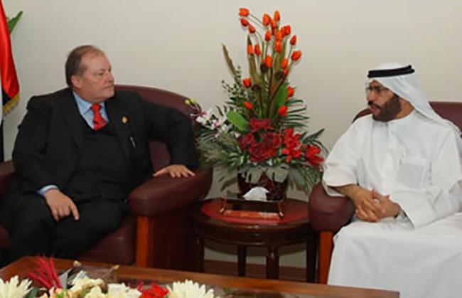 Abudabi, visita alla Mezza Luna rossa degli Emirati Arabi