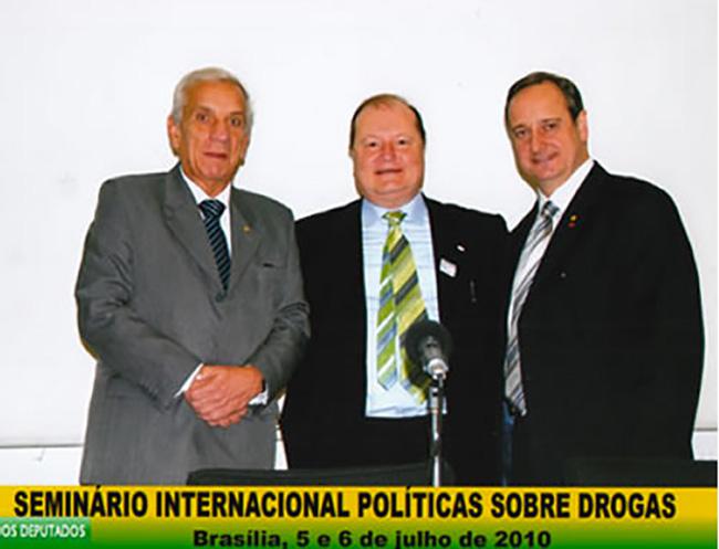 Brasile Camera dei deputati seminario sulla droga