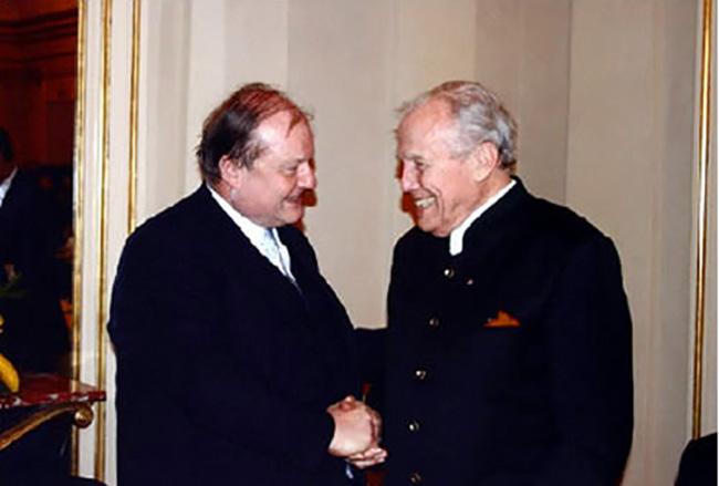 Con Georges Pretre