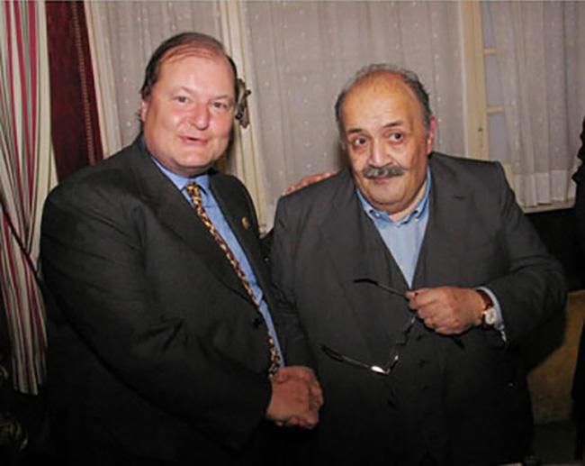 Con Maurizio Costanzo