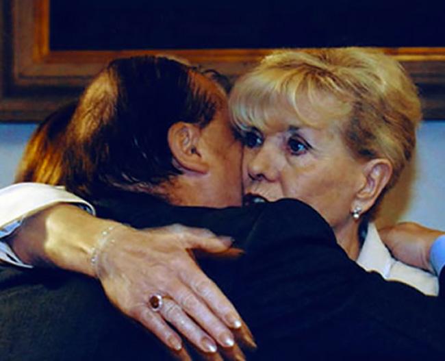 Con il Premio Nobel Betty Williams