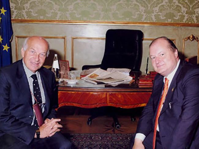 Con il Presidente della Camera Fausto Bertinotti roma