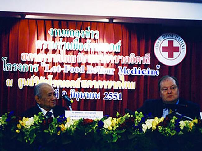 Conferenza su HIV – AIDS alla Croce Rossa Thailandese