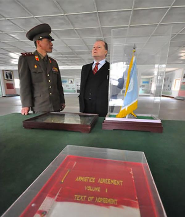 Corea del Nord, visita al 38° parallelo