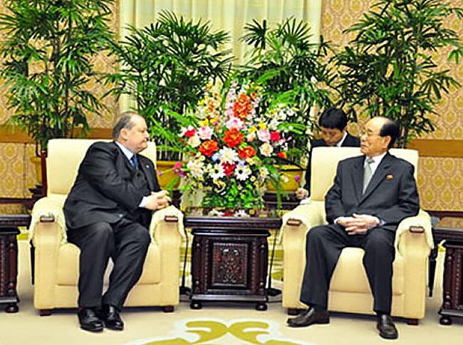 Corea del Nord visita al Capo dello stato