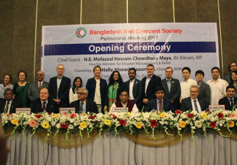 Dhaka (Bangladesh) Red Crescent Society – Partnership meeting