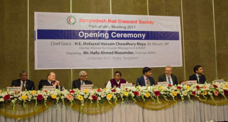 Dhaka Red Crescent Society – Partnership meeting