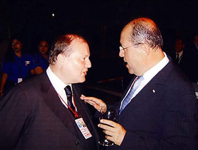 Equador, alla conferenza Interamericana con il Presidente della federazione
