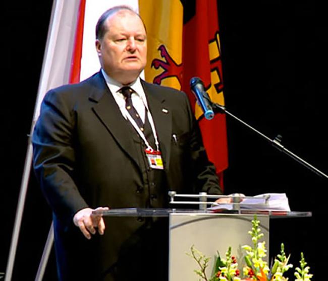 Ginevra inaugurazione della conferenza internazionale della Croce rossa e Mezza Luna Rossa