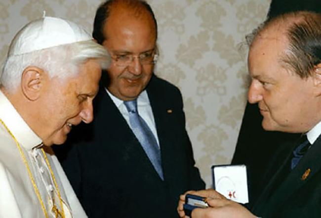 Incontro con Papa Benedetto XVI.