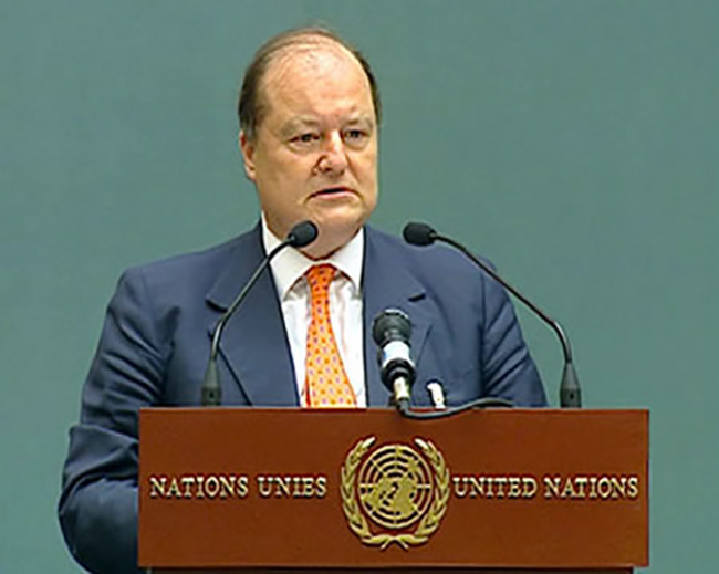 Intervento al Consiglio Economico e Sociale delle Nazioni Unite