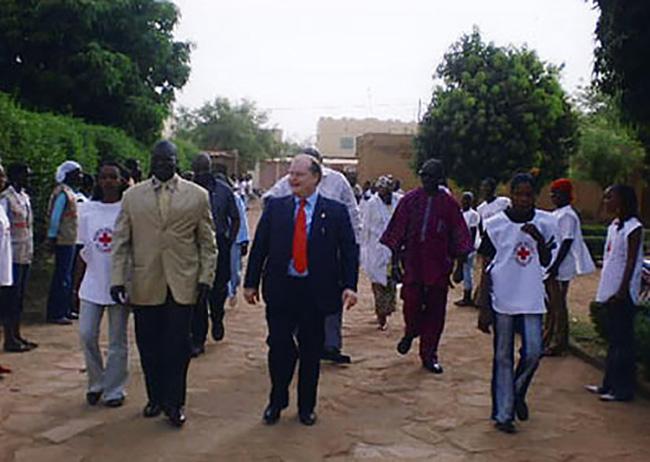 Mali, visita alla Croce Rossa di Bamako