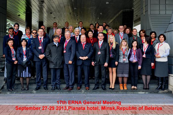 Minsk – 17a Assemblea Generale di ERNA