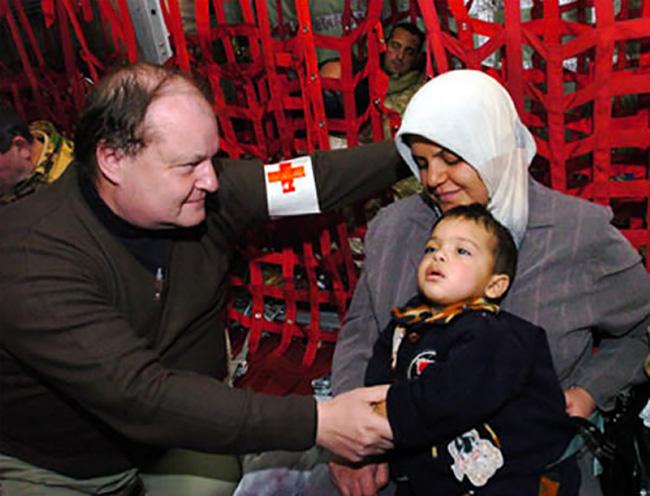 Nassiriya visita al contingente della Croce Rossa Italiana
