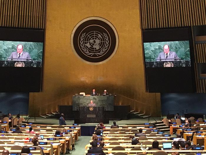 New York Sessione Speciale Droga – Assemblea Generale dellONU