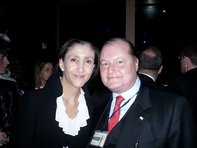 Parigi, con Ingrid Betancourt