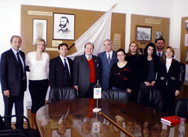 Podgoriza, visita della Croce rossa del Montenegro