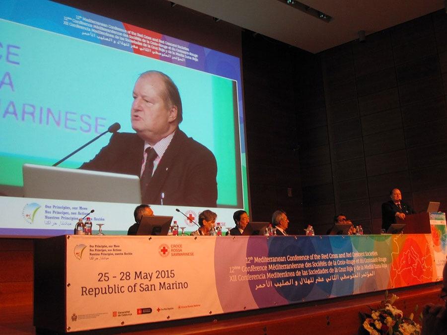 San Marino. Conferenza Mediterranea della Croce Rossa e Mezzaluna Rossa