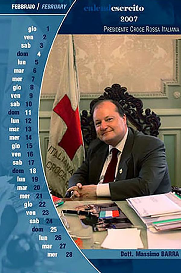 Sul calendario dell'Esercito Italiano