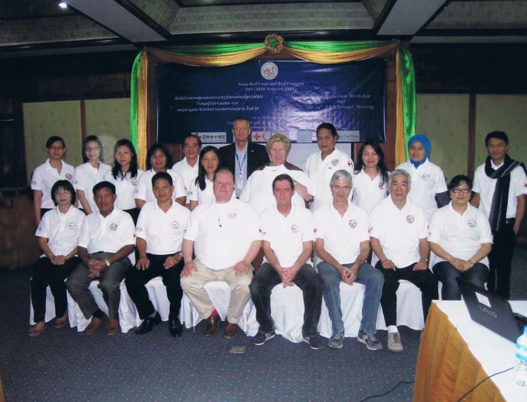 Vientiane – Corso su harm Reduction per società di Cr/Mr del sud-est Asiatico