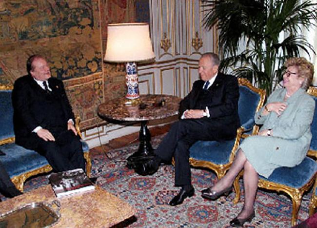 Visita al Quirinale con il presidente Carlo Azelio Ciampi e Signora Franca