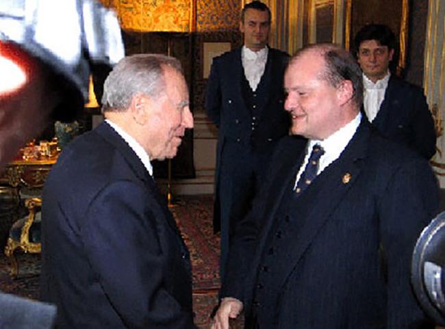 Visita al Quirinale con il presidente Carlo Azelio Ciampi