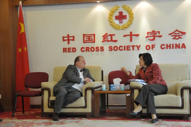 Visita alla Croce Rossa Cinese