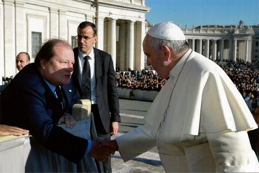 Visita in Vaticano – Dicembre