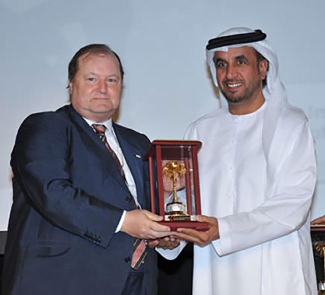 conferenza della Croce Rossa Abu Dhabi