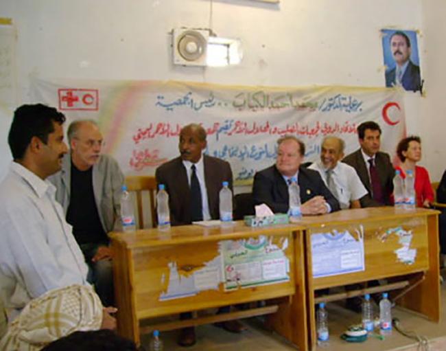 visita al comitato della Mezza Luna Rossa di Socotra